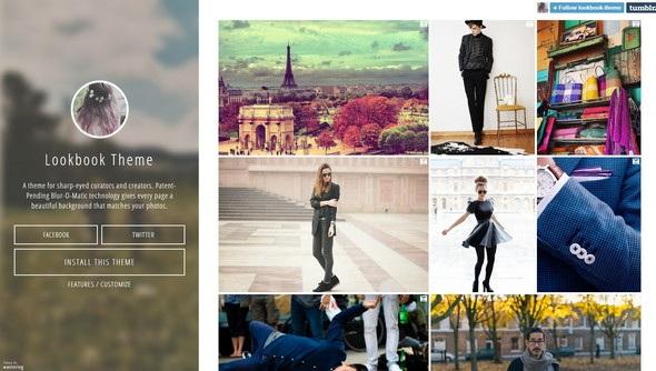 tumblr photography theme