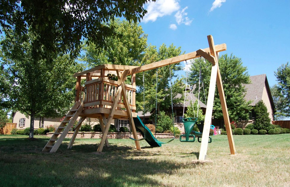 Natural State Treehouses Inc Stimis Family Playset