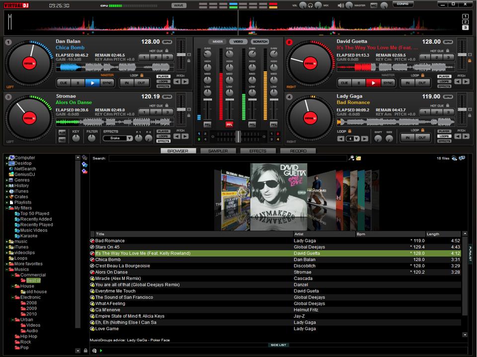 Cara download virtual dj di laptop pc