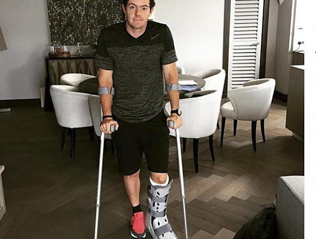 Nike se desespera con la última lesión de McIlroy