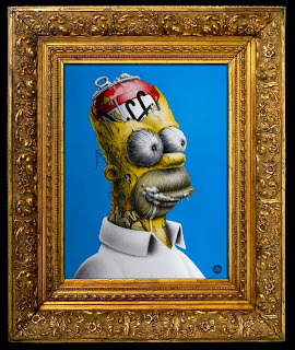 Distroy, por PEZ Artwork, Homer Simpson