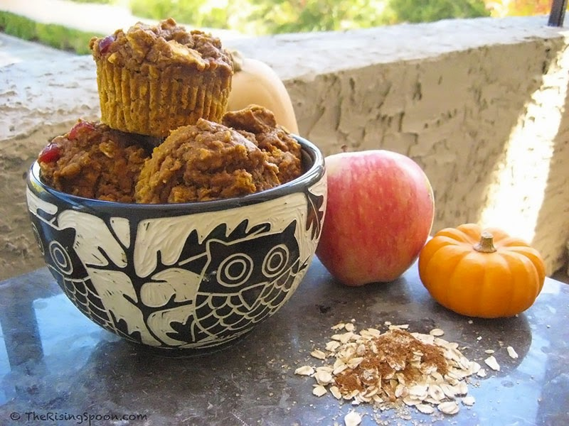 Pumpkin-Apple Harvest Muffins Recipe