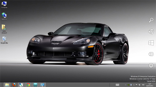 Chevrolet Corvette Centennial Edition Theme For Windows 7 And 8