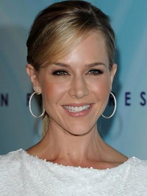 Julie Benz Sterling Hoop Earrings