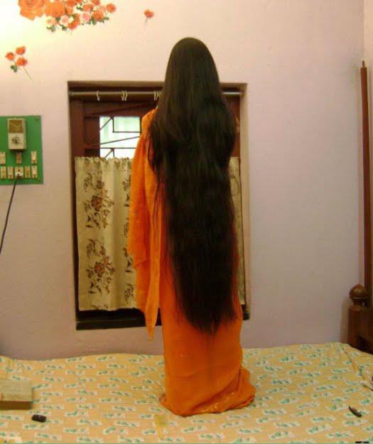 Indian Long Hair Girls March 2012