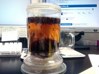 Making Irish Breakfast at with perfect tea maker