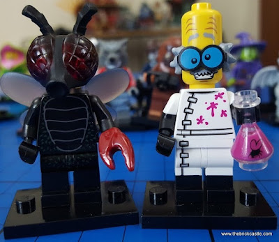 LEGO Minifigures Crazy Scientist and Fly Monster