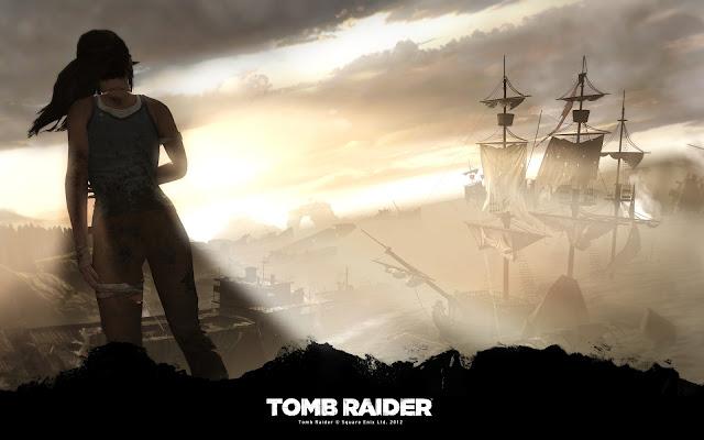 Shipwreck vista - Tomb Raider