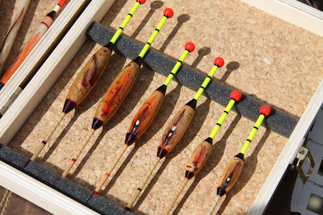 Windbeaters, Tench Drifters in cork lined float box