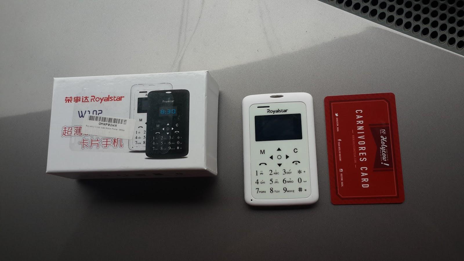 Baranghobi Hand Phone Seukuran Kartu Kredit
