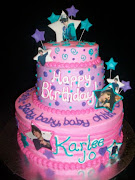 Justin Bieber Birthday Cakes Idea (justin bieber birthday cakes pink color)