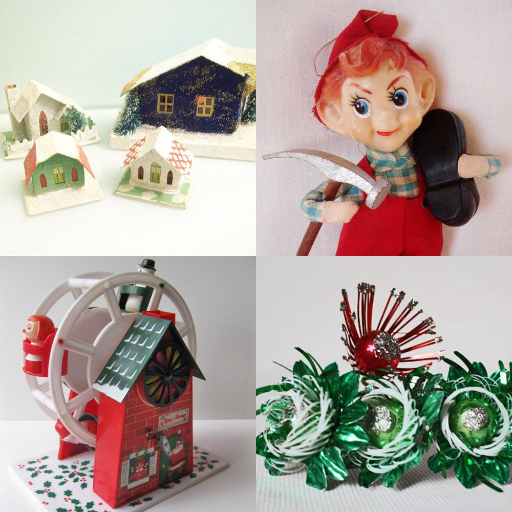 Vintage Market Team on Etsy: Amy\'s Old School Tips Vintage Christmas ...