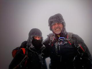Grupo Candelariense de Montaña en La Mira Invernal