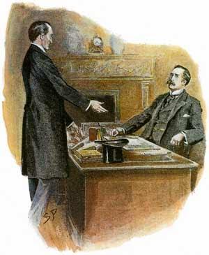 Reencuentro de Holmes con Watson