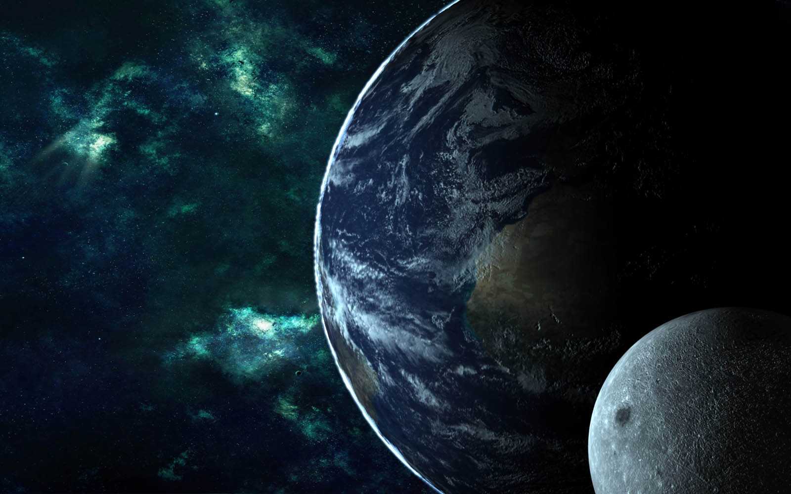 wallpapers earth and moon wallpapers