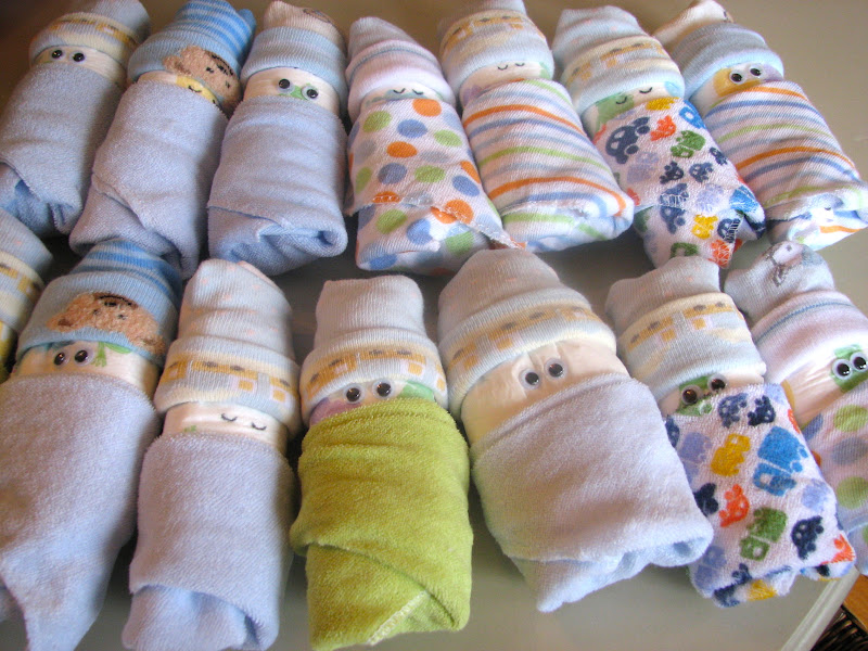 The simple craft diaries diaper babies for Diaper crafts for baby shower
