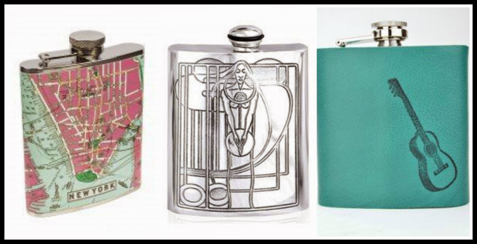 Hip flasks from Buyahipflask.com