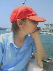 My Son out on the Boat