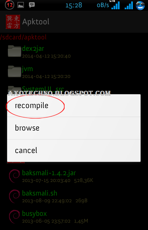 Cara Mudah Decompile dan Recompile APK Tanpa PC