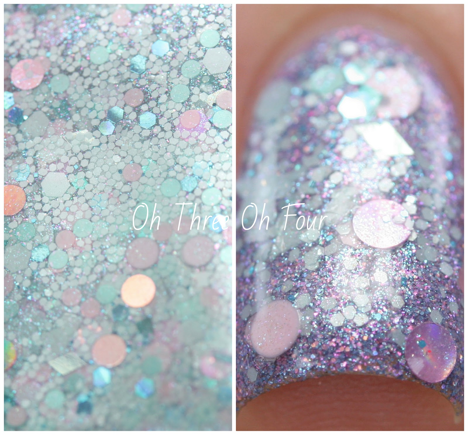 Lynnderella Mint to Be! Swatch