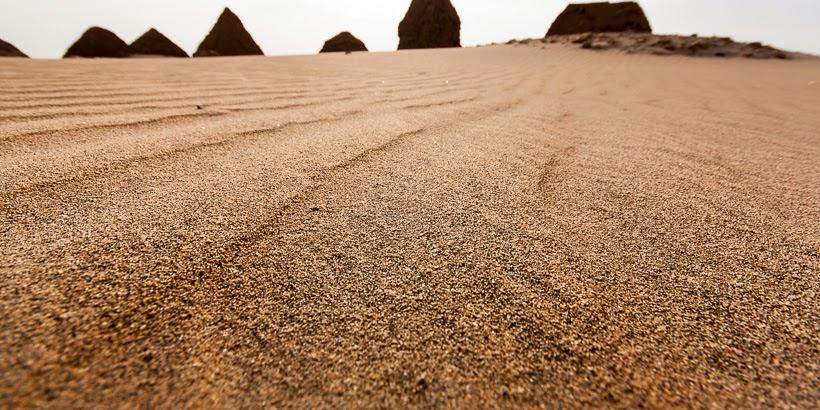 Napatai piramisok. Núri, Szudán.