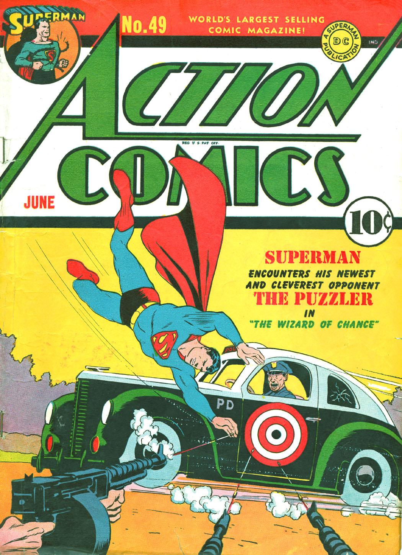 Action Comics (1938) 49 Page 1
