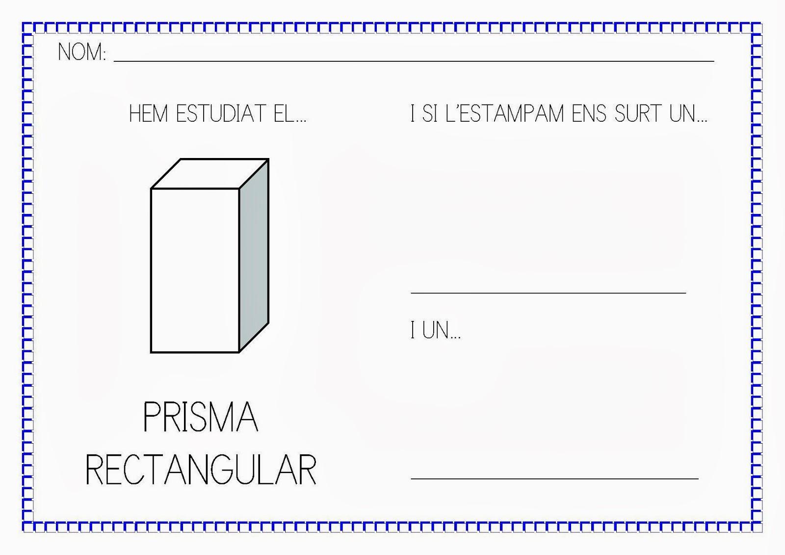 Triangular Prism Template