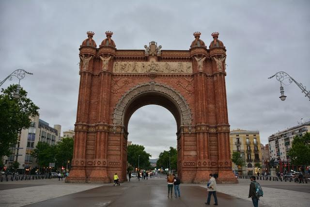 Arc de Thriomphe Barcelona
