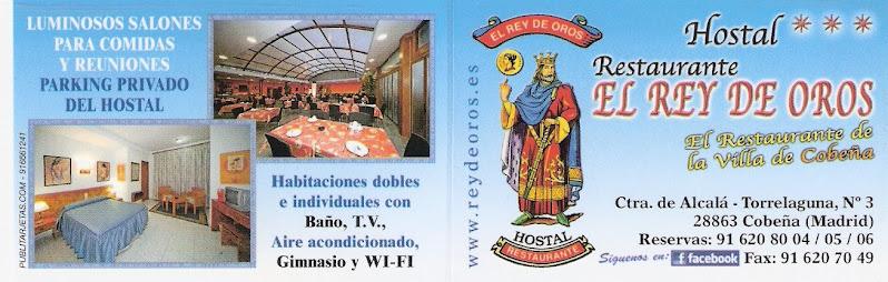 hostal restaurante rey de oros