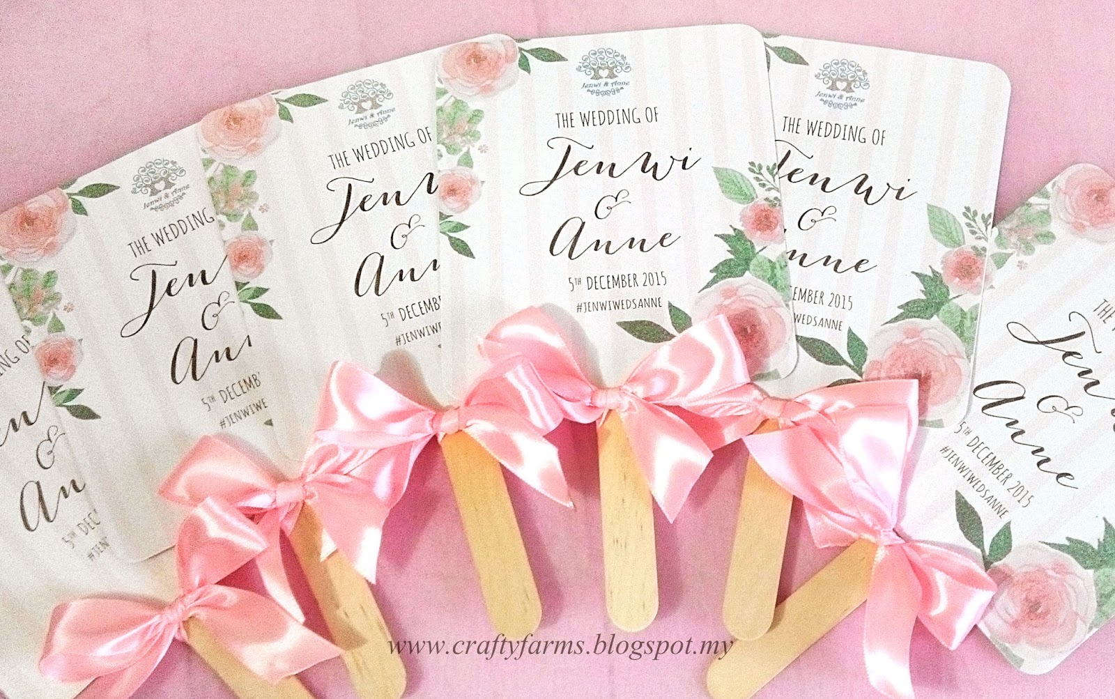 Wedding Card Malaysia | Crafty Farms Handmade : Watercolour Flower ...