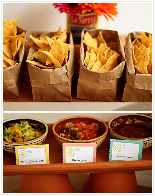 Paper and party love mexican fiesta for Food bar ideas for a party