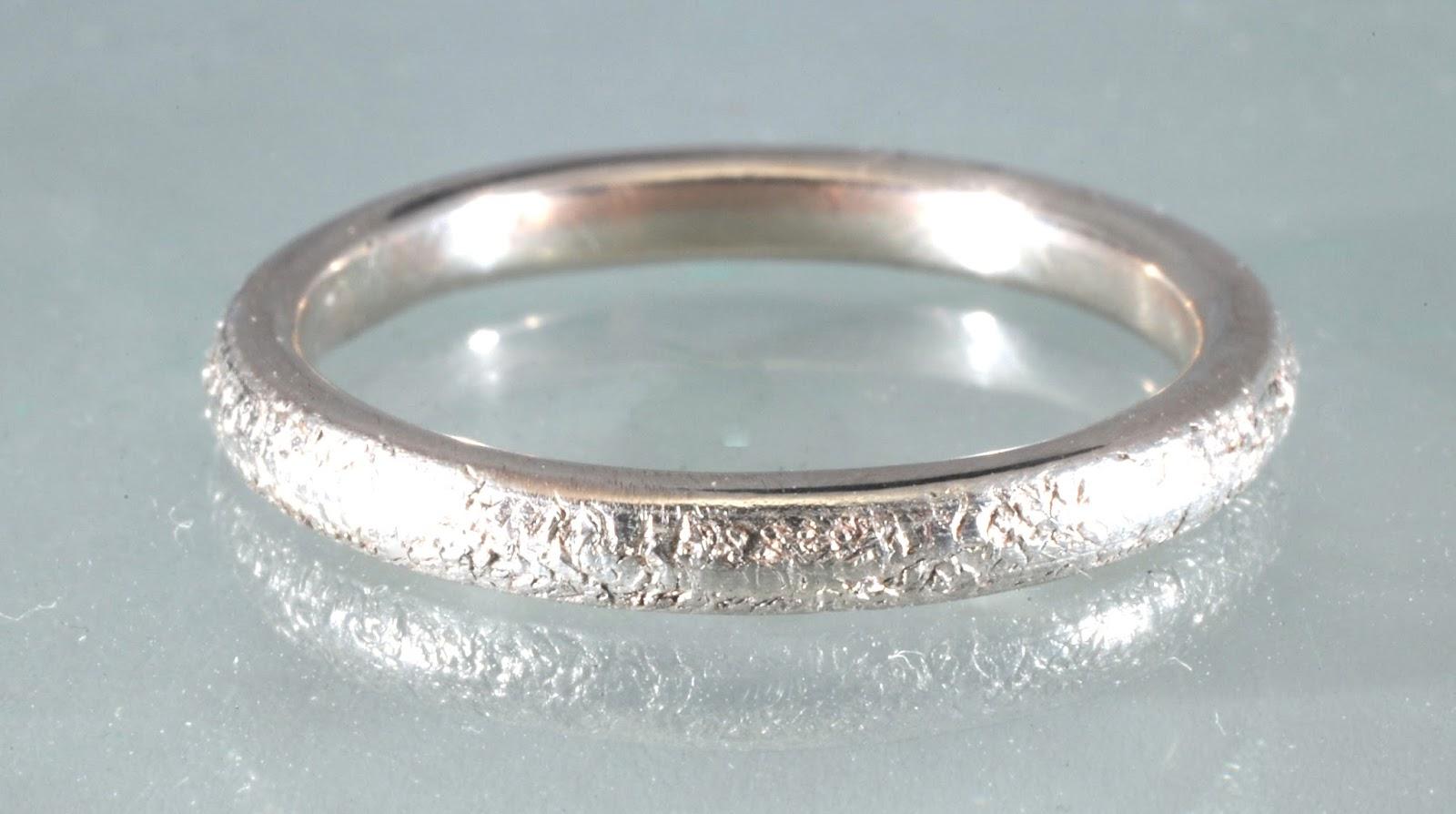 Billig vigselring i silver