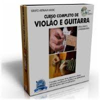 CURSO COMPLETO DE VIOLÃO E GUITARRA