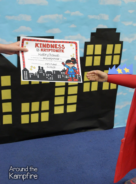Super Hero Award Ceremony