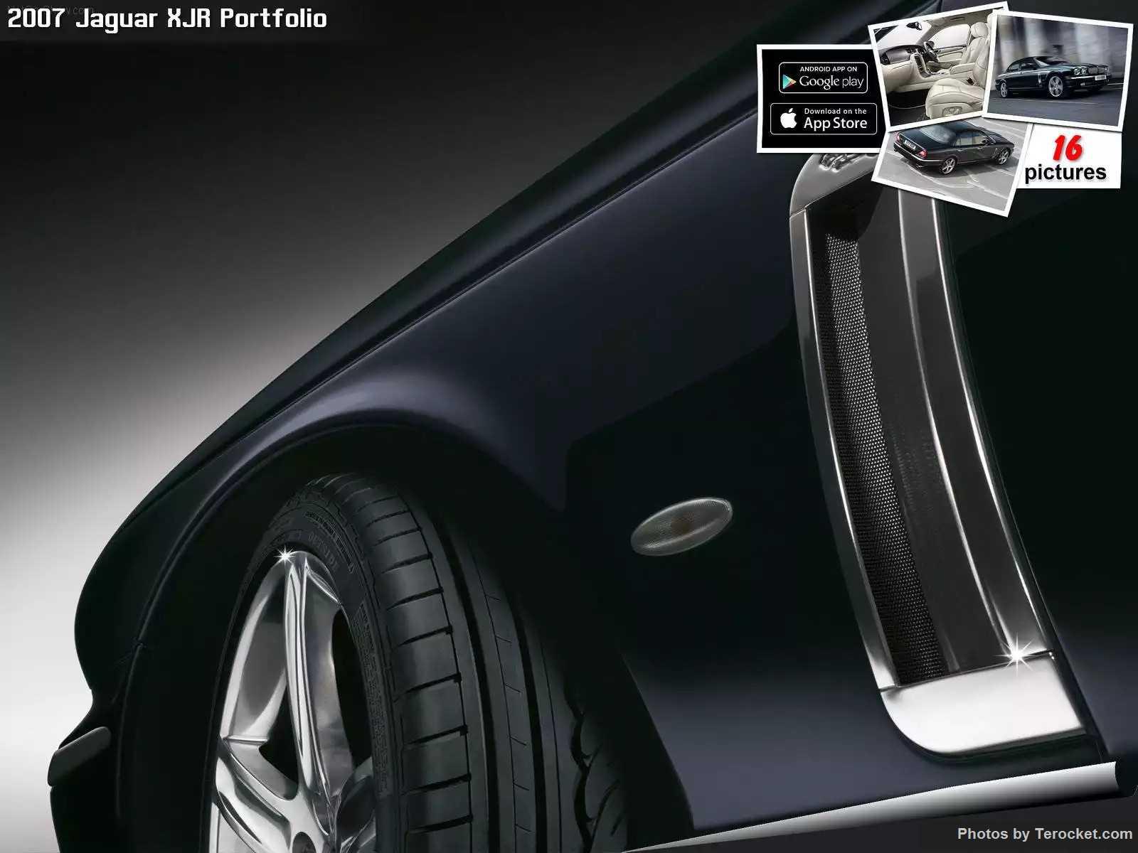 Hình ảnh xe ô tô Jaguar XJR Portfolio 2007 & nội ngoại thất