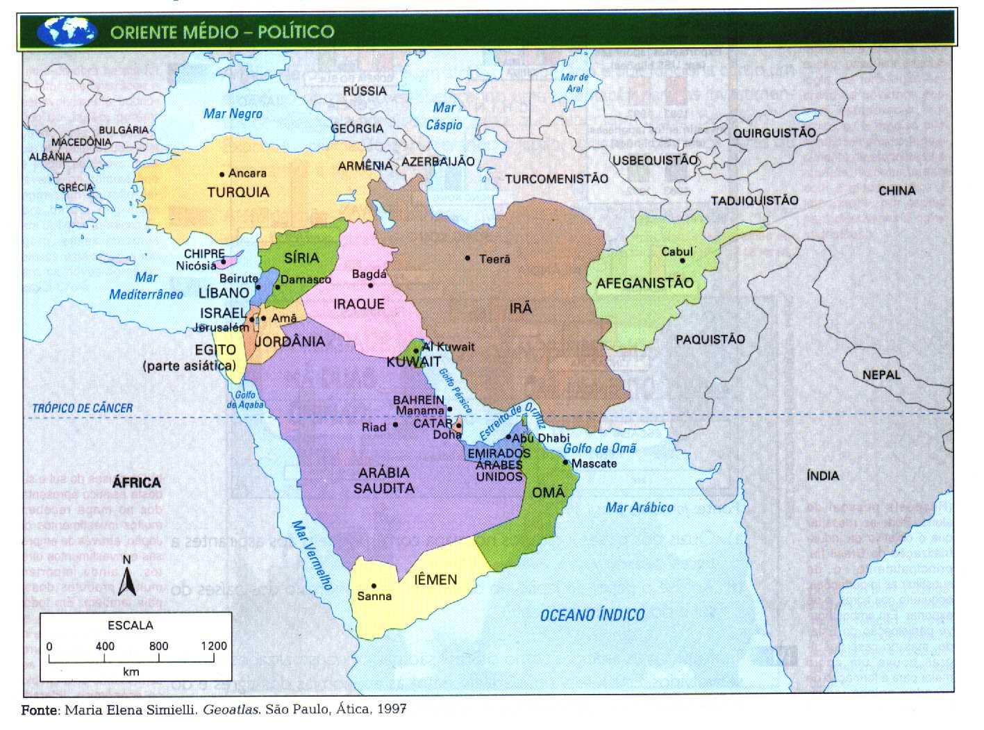 Oriente Mdio  Textos e Atividades
