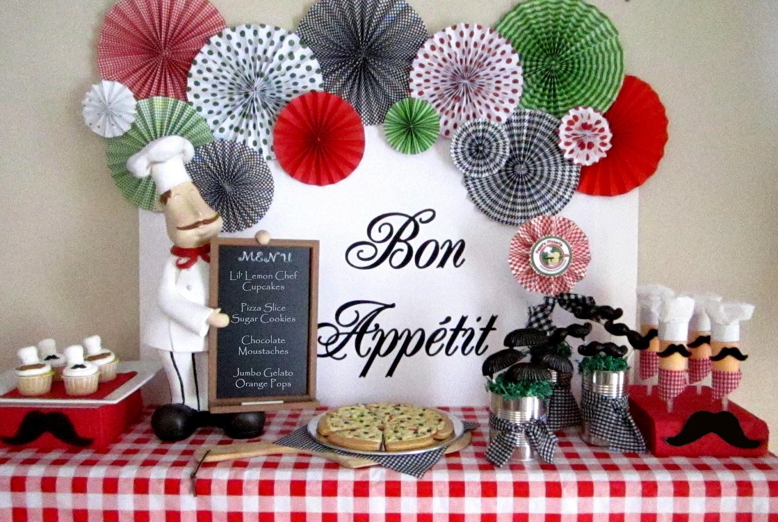 We Had Some Sweet Treats On A Mini Dessert Table