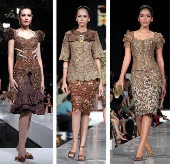 Model Rok Kebaya Pendek