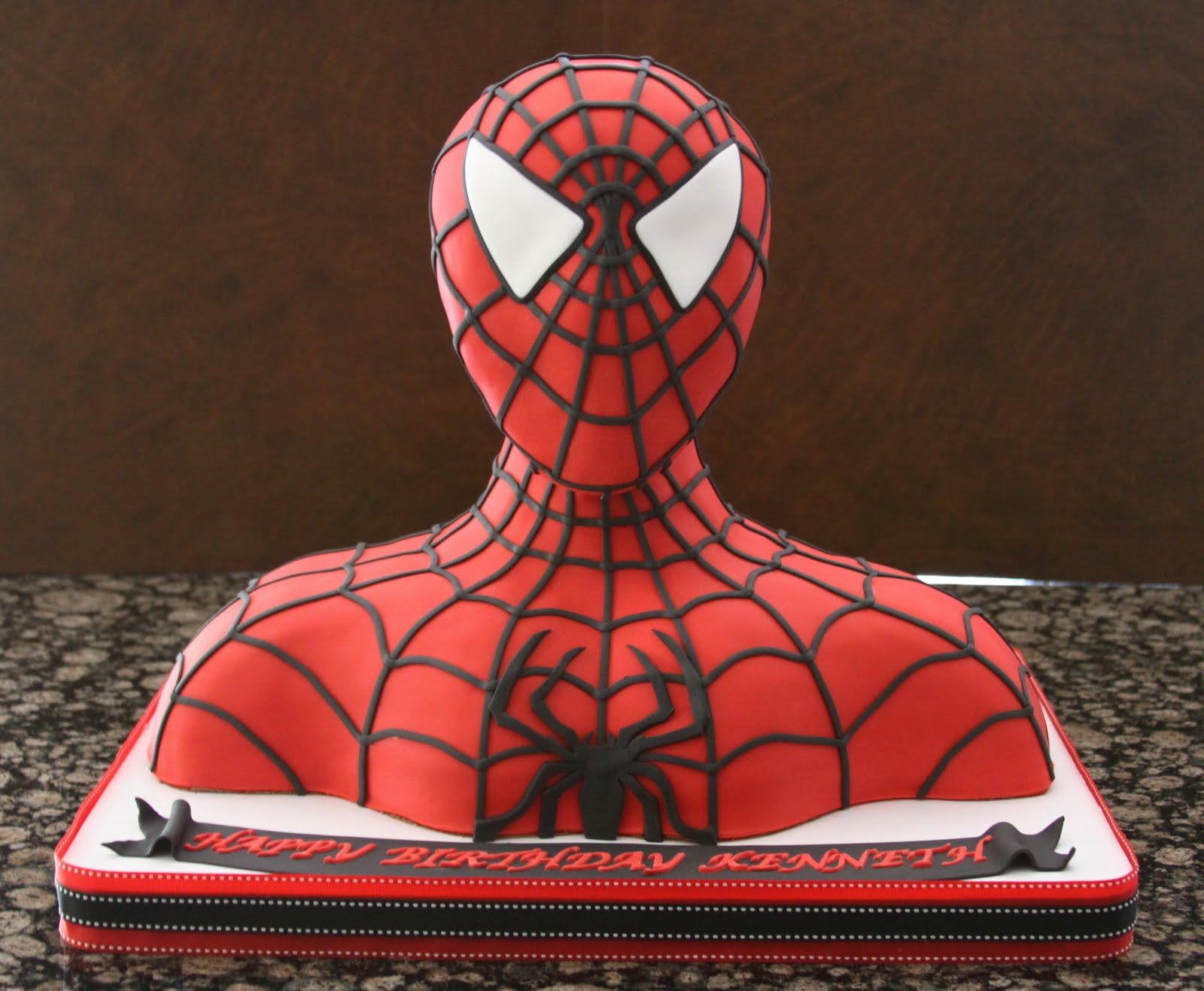 Images For Spiderman Cake : .: Spiderman Cake and Superhero Cake Pops