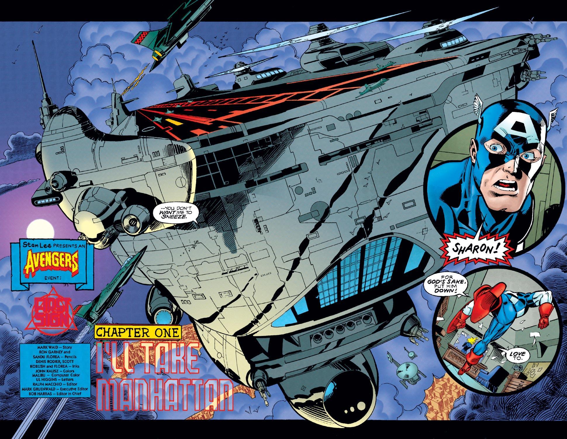 Captain America (1968) Issue #449 #403 - English 3