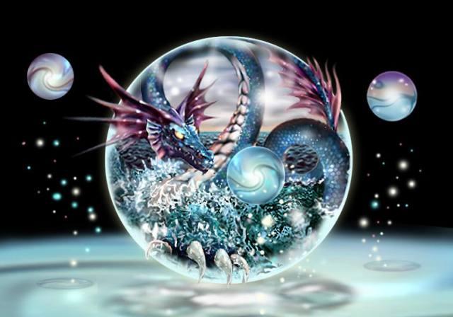 MI ALMA DE DIAMANTE: Mensaje de los Dragones del Agua - 17