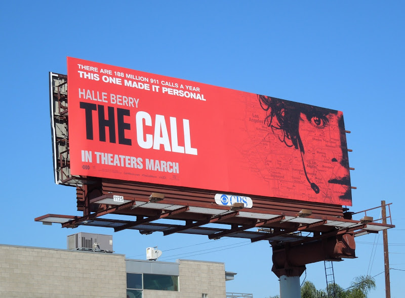 The Call movie billboard