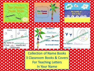 letter sorts and name books