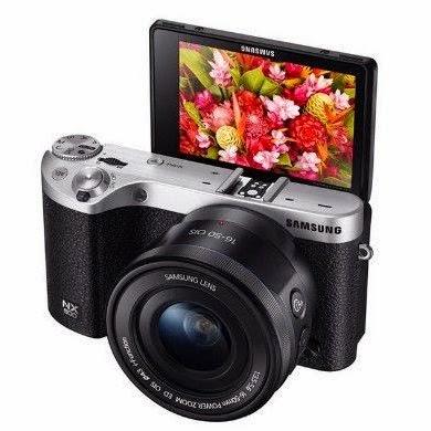 Câmera digital, Samsung, câmera digital Samsung NX500, gadgets, fotografia, câmera digital visual retrô, câmera digital com tela especial para selfies, câmera digital que grava vídeos em resolução 4K, tela flip para selfies, conexão WiFi, visual retrô, gravação de vídeos em resolução 4K