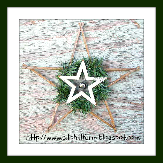 "alt=""rustic star ornament"""