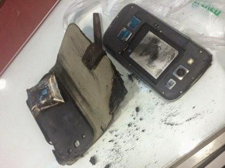 Lagi, Samung Galaxy S3 Terbakar