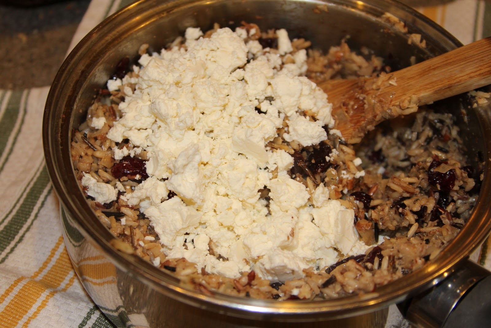 Winter squash with rice, cranberries, and pecans - Cooking With Ruthie