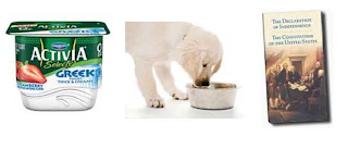 Free Activia, Dog Food, Constitution and More