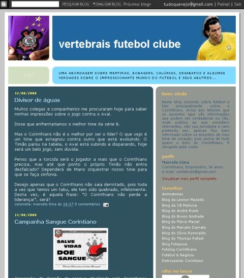 Visite Vertebrais Futebol Clube