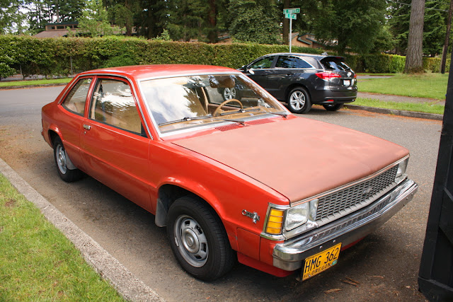 1982 Chevrolet Citation Notchback Coupe.